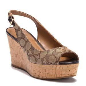 NEW! Platform Wedge Sandals